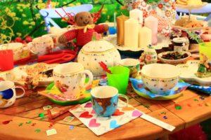 色鮮やかな食卓